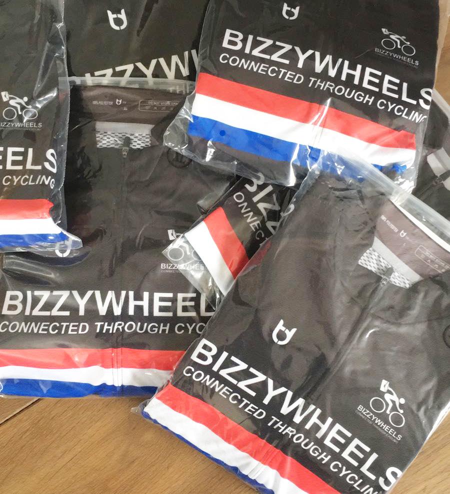 BizzyWheels kleding bestelbaar