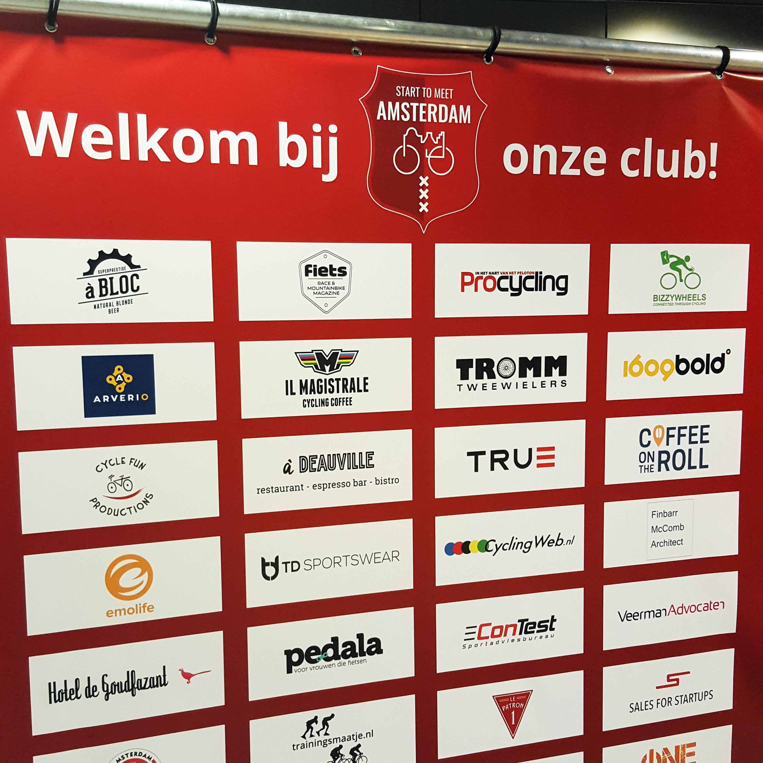 BizzyWheels is sponsor van Start to meet Amsterdam